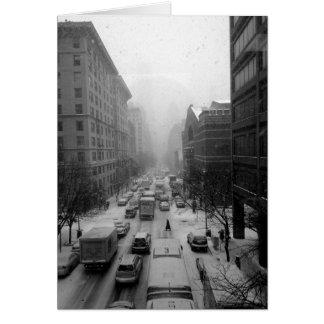 Cartes Hiver de Manhattan
