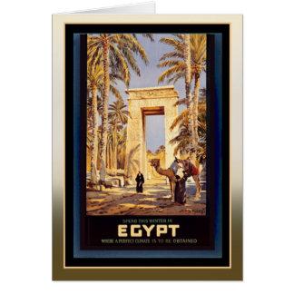 Cartes Hiver en Egypte