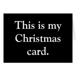 Cartes Ho. Ho. Ho.
