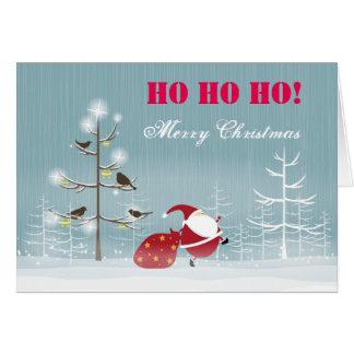 Cartes Ho Ho Ho Joyeux Noël
