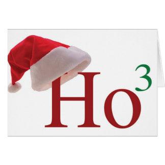 Cartes Ho Ho Ho Joyeux Noël 3 à la 3ème puissance