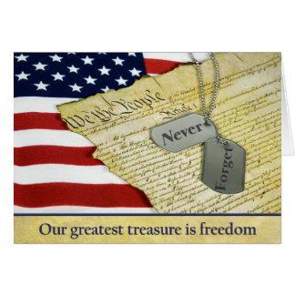 Cartes Hommage patriotique