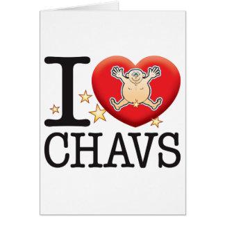 Cartes Homme d'amour de Chavs