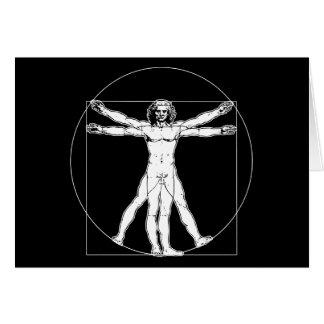 Cartes Homme de da Vinci Vitruvian