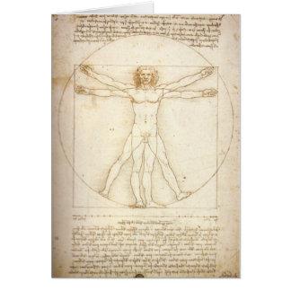 Cartes Homme de Vitruvian