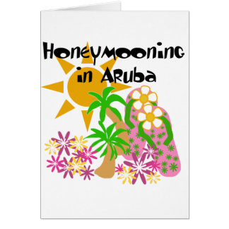 Cartes Honeymooning dans Aruba