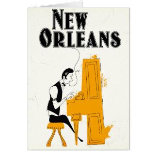 Cartes Honky Tonk de la Nouvelle-Orléans