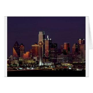 Cartes Horizon de nuit de Dallas