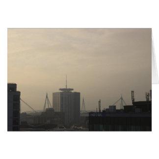 Cartes Horizon de ville de Cardiff
