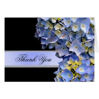 Cartes Hortensias bleus de Merci, alpha