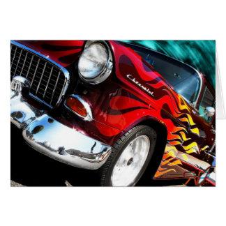 Cartes Hot rod 1955 de Chevy V6