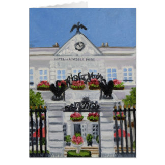 Cartes Hôtel Noir de L'Aigle : Fontainebleau FRANCE