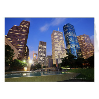 Cartes Houston du centre, le Texas