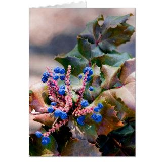 Cartes Houx de raisin