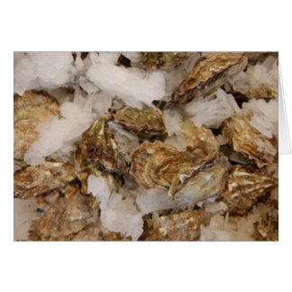 Cartes huîtres