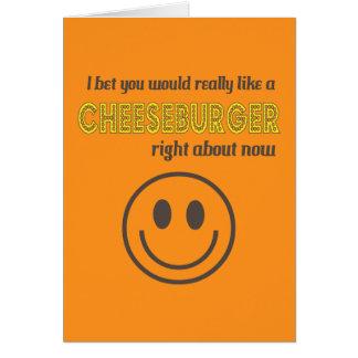 Cartes Humour de fromage