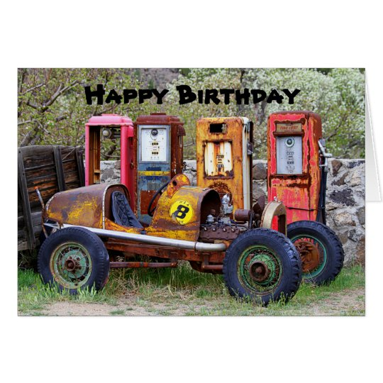 cartes humour de voiture de course de joyeux anniversaire. Black Bedroom Furniture Sets. Home Design Ideas