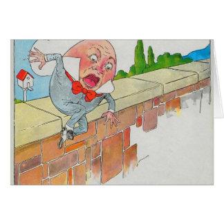 Cartes Humpty Dumpty reposé sur un mur