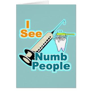 Cartes Hygiéniste dentaire drôle de dentiste