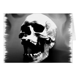 Cartes Hysteriskull riant le crâne humain