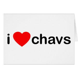 Cartes I coeur Chavs