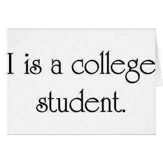 Cartes I est un étudiant universitaire