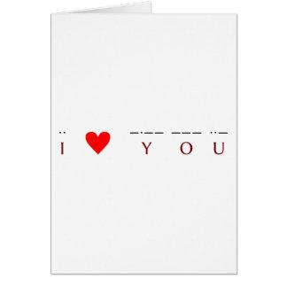 Cartes ♥ I vous ·· ♥ -·-- --- ··-