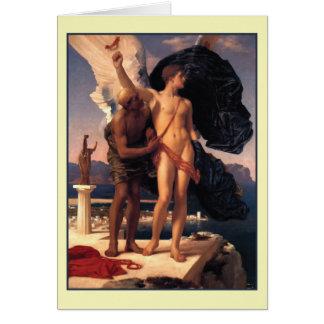 Cartes Icare et Daedalus par Frederick Leighton