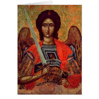 Cartes Icône de l'ange Michael, Grec, XVIIIème siècle