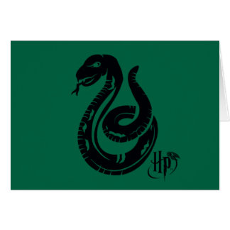 Cartes Icône de serpent de Harry Potter | Slytherin