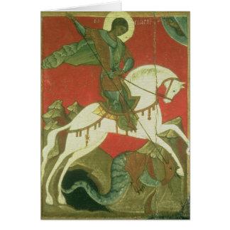 Cartes Icône de St George et du dragon