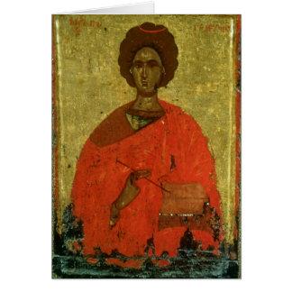 Cartes Icône de St Pantaleon de Nicomedia