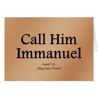Cartes Il est 7h14 d'Immanuel Isaïe