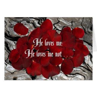 Cartes Il m'aime, il m'aime pas