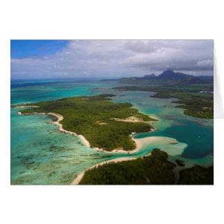 Cartes Ile Cerfs aux., Îles Maurice