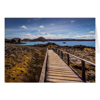 Cartes Île de Bartolome dans les îles de Galapagos