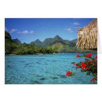 Cartes Île de Bora Bora, Polynésie française