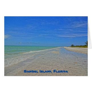 Cartes Île de Sanibel la Floride - le Golfe du Mexique