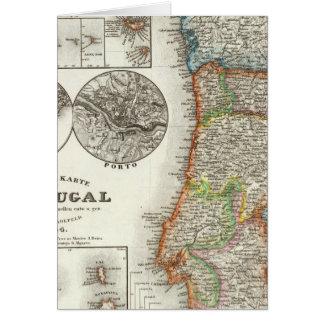 Cartes Îles du Portugal et de Cap Vert