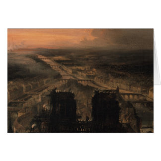Cartes Illumination de Notre Dame