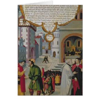 Cartes Illustration à l'enseignement du Christ