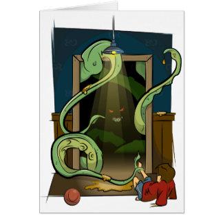 Cartes Illustration de monstre de cabinet par les
