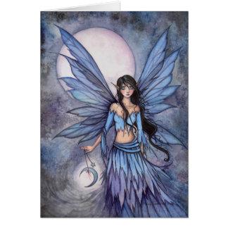 Cartes Illustration féerique céleste d'art d'imaginaire