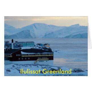 Cartes Ilulissat Groenland - customisé
