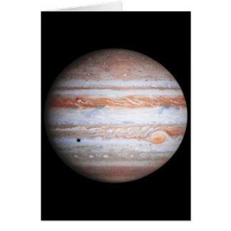Cartes Image AUGMENTÉE de la NASA de flyby de Jupiter