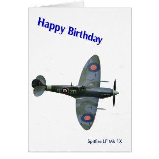 Cartes Image d'avions de Spitfire pour