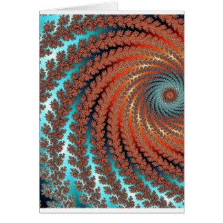 Cartes Image de couleur de fractale