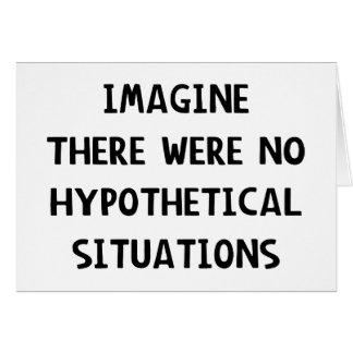 Cartes Imaginez hypothétique