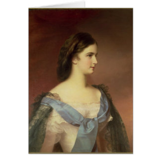 Cartes Impératrice Elizabeth de la Bavière en tant que