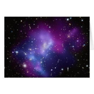 Cartes IMPERS J0717 de groupe de galaxie